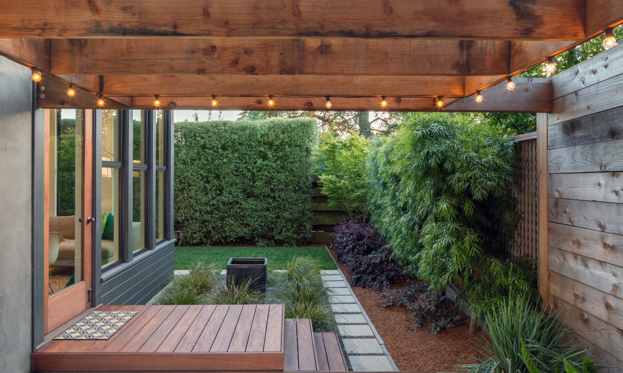 agrandir espace jardin