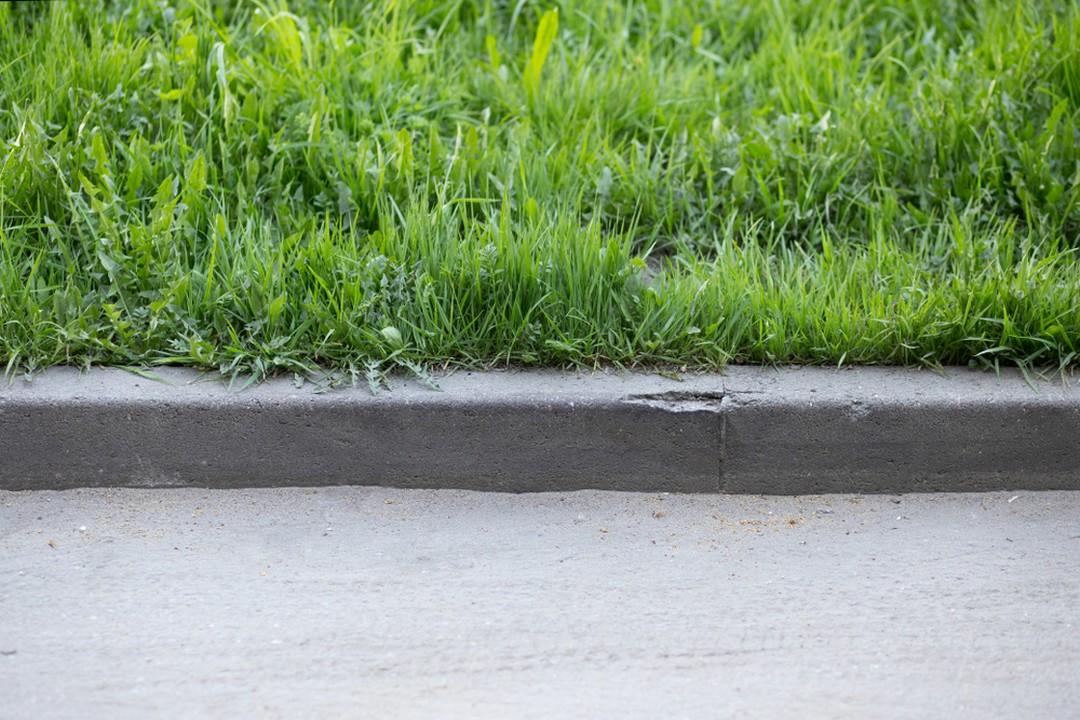 Bordure en béton : la solidité