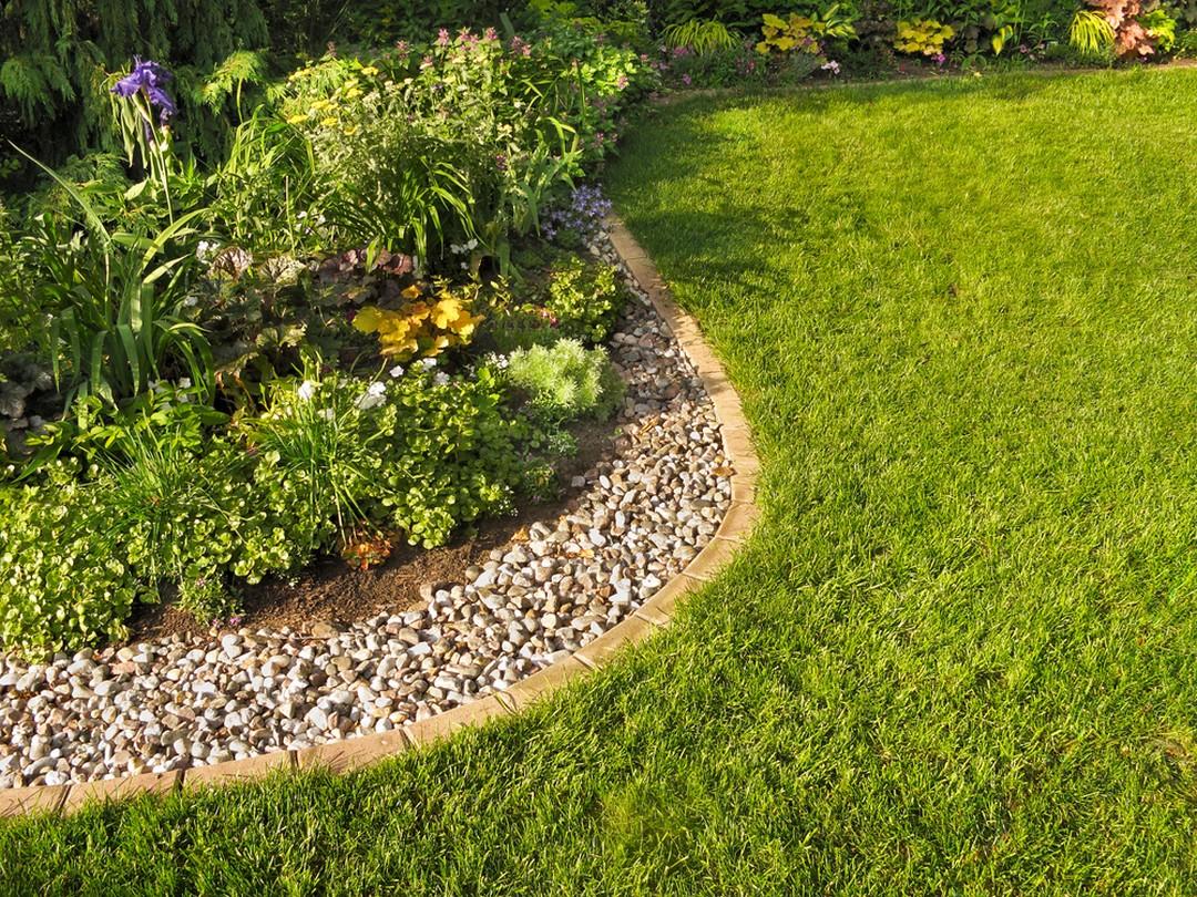 Eléments pour séparer un jardin