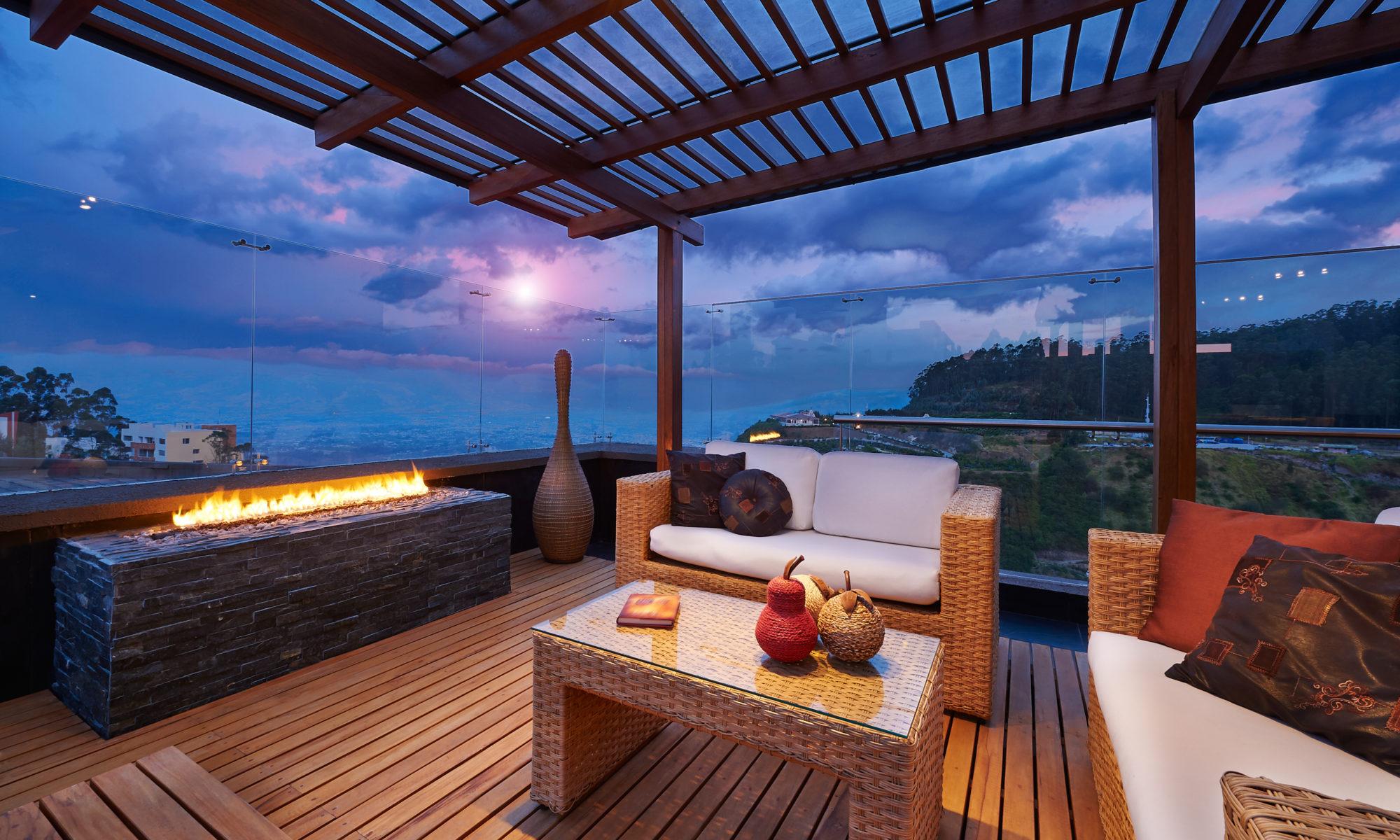 Salons d'extérieur pour petite terrasse
