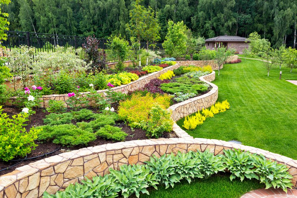Bordures de jardin pour tout les styles