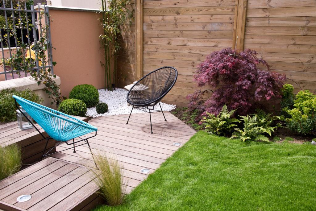 Aménager son jardin : clôtures et terrasses