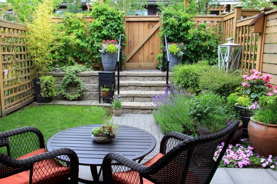 décorer petit jardin