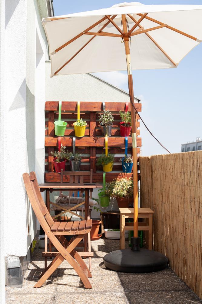 parasol petite terrasse